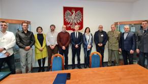 Wizyta delegacji z Hiszpanii i Francji w WML.